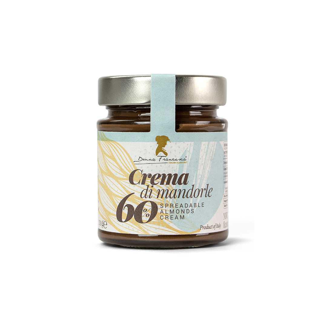 Crema spalmabile di mandorle di Donna Francesca