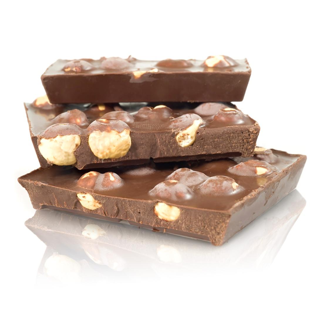 Tavoletta Maxi cioccolato al latte e nocciole intere di Domori
